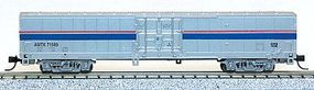 Con-Cor Material Handling Car Express Box Car Amtrak Phase IV N Scale Model Train Freight Car #40603