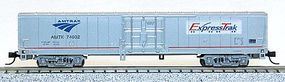Con-Cor Material Handling Car Express Box Car Amtrak Express Trak N Scale Model Freigt Car #40604