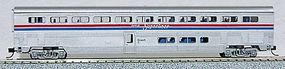 Con-Cor 85 Superliner Coach Amtrak Phase II N Scale Model Train Passenger Car #40621