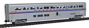 Con-Cor 85 Superliner Coach Amtrak Phase IV N Scale Model Train Passenger Car #40623