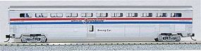 Con-Cor 85 Superliner Diner Amtrak Phase III N Scale Model Train Passenger Car #40632
