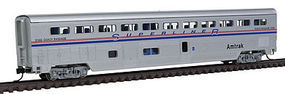 Con-Cor 85 Superliner Coach/Baggage Amtrak phase 4 N Scale Model Train Passenger Car #40643