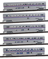 Con-Cor 85 Superliner Amtrak Phase IV (5) N Scale Model Train Passenger Car #40673