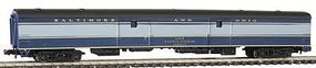 Con-Cor 85 Baggage Car Baltimore & Ohio N Scale Model Train Passenger Car #408123