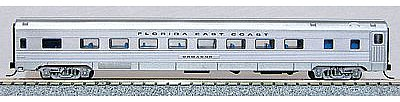 Con-Cor Budd 85 Corrugated-Side Coach Florida East Coast N Scale Model Train Passenger Car #41258