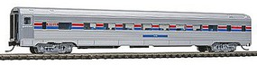 Con-Cor Budd 85 Corrugated-Side Coach Amtrak N Scale Model Train Passenger Car #41259
