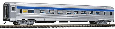 Con-Cor Budd 85' Corrugated-Side Coach VIA Rail Canada -- N Scale Model Train Passenger Car -- #41263