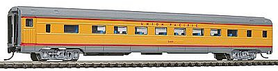 Con-Cor Budd 85' Corrugated-Side Coach Union Pacific -- N Scale Model Train Passenger Car -- #41264