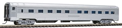Con-Cor Budd 85' Corrugated-Side 10-6 Sleeper Undecorated -- N Scale Model Train Passenger Car -- #41275