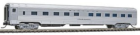 Con-Cor Budd 85 Corrugated-Side 10-6 Sleeper Santa Fe N Scale Model Train Passenger Car #41276