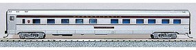 Con-Cor Budd 85 Corrugated-Side 10-6 Sleeper Pennsylvania Railroad N Scale Model Passenger Car #41278