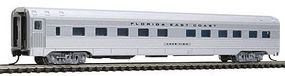 Con-Cor Budd 85 Corrugated-Side 10-6 Sleeper Florida East Coast N Scale Model Passenger Car #41283
