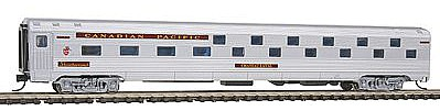 Con-Cor Budd 72' Corrugated-Side Baggage Canadian Pacific -- N Scale Model Train Passenger Car -- #41310