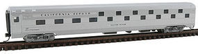 Con-Cor Budd Slumber Coach California Zephyr N Scale Model Train Passenger Car #41312