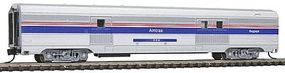 Con-Cor Budd 72 Streamlined Baggage Car Amtrak Phase IV N Scale Model Train Passenger Car #41336