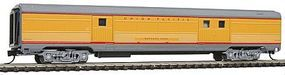 Con-Cor Budd Streamlined 72 Baggage Union Pacific N Scale Model Train Passenger Car #41339