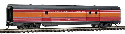 Con-Cor Budd Streamlined 72' Baggage Southern Pacific ''Daylight'' -- N Scale Model Passenger Car -- #41341