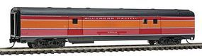 Con-Cor Budd Streamlined 72 Baggage Southern Pacific Daylight N Scale Model Passenger Car #41341