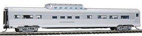 Con-Cor Budd 85 Corrugated-Side Mid-Train Dome Undecorated N Scale Model Train Passenger Car #41350