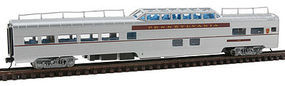 Con-Cor Budd Mid-Train Dome Car Pennsylvania RR N Scale Model Train Passenger Car #41353