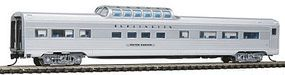 Con-Cor Budd 85 Mid-Train Dome Chicago, Burlington & Quincy N Scale Model Passenger Car #41355
