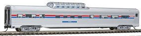 Con-Cor Budd 85 Corrugated-Side Mid-Train Dome Amtrak N Scale Model Train Passenger Car #41359
