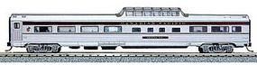Con-Cor Budd 85 Corrugated-Side Mid-Train Dome Canadian Pacific N Scale Model Passenger Car #41360