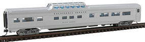 Con-Cor Budd Mid-Train Dome California Zephyr N Scale Model Train Passenger Car #41362