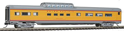 Con-Cor Budd 85' Corrugated-Side Mid-Train Dome Union Pacific -- N Scale Model Train Passenger Car -- #41364