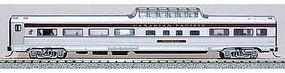 Con-Cor Budd 85 Fluted-Side Mid-Train Dome Amtrak #9459 N Scale Model Train Passenger Car #41369