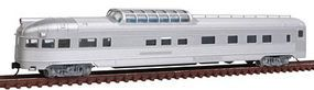 Con-Cor Budd 85 Corrugated-Side Dome-Observation Undecorated N Scale Model Train Passenger Car #41375