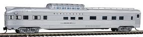 Con-Cor Budd 85 Dome-Observation Chicago, Burlington & Quincy N Scale Model Passenger Car #41380