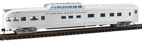 Con-Cor Budd 85 Dome/Observation Florida East Coast N Scale Model Train Passenger Car #41383