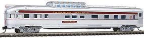 Con-Cor Budd 85 Corrugated-Side Dome-Observation Canadian Pacific N Scale Model Passenger Car #41385