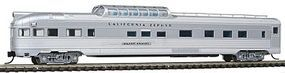 Con-Cor Budd 85 Corrugated-Side Dome-Observation California Zephyr N Scale Model Passenger Car #41387