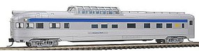 Con-Cor Budd 85 Corrugated-Side Dome-Observation VIA Rail Canada N Scale Model Passenger Car #41388