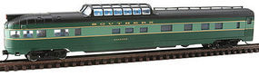 Con-Cor Budd Streamlined Dome/Observation Southern N Scale Model Train Passenger Car #41390