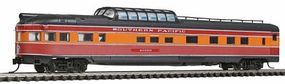 Con-Cor Budd 85 Corrugated-Side Dome-Observation Southern Pacific N Scale Model Passenger Car #41391