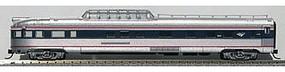 Con-Cor Budd 85 Fluted-Side Dome-Observation Amtrak #3343 N Scale Model Train Passenger Car #41392
