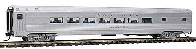 Con-Cor Budd 85' Corrugated-Side Parlor Santa Fe -- N Scale Model Train Passenger Car -- #41401