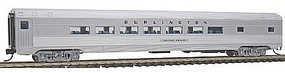 Con-Cor Budd 85 Parlor Chicago, Burlington & Quincy N Scale Model Train Passenger Car #41405