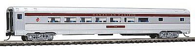 Con-Cor Budd 85' Corrugated-Side Parlor Canadian Pacific -- N Scale Model Train Passenger Car -- #41410