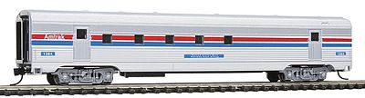 Con-Cor Budd 72' Corrugated-Side Railway Post Office Amtrak -- N Scale Model Passenger Car -- #41434