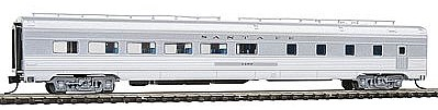 Con-Cor Budd 85' Corrugated-Side Diner Santa Fe -- N Scale Model Passenger Car -- #41451