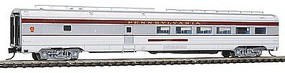 Budd 85' Corrugated-Side Diner Pennsylvania Railroad N Scale Model Passenger Car #41453