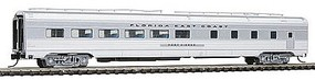 Con-Cor Budd 85 Corrugated-Side Diner Florida East Coast N Scale Model Passenger Car #41458