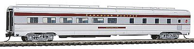 Con-Cor Budd 85' Corrugated-Side Diner Canadian Pacific -- N Scale Model Passenger Car -- #41460
