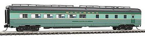 Con-Cor Budd 85 Corrugated-Side Diner Southern Railway N Scale Model Passenger Car #41465