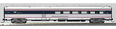 Con-Cor Budd 72' Fluted-Side Diner Amtrak #8507 -- N Scale Model Passenger Car -- #41468