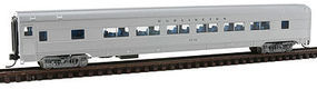 Con-Cor Budd Twin-Window Coach Chicago, Burlington, & Quincy N Scale Model Train Passenger Car #41480